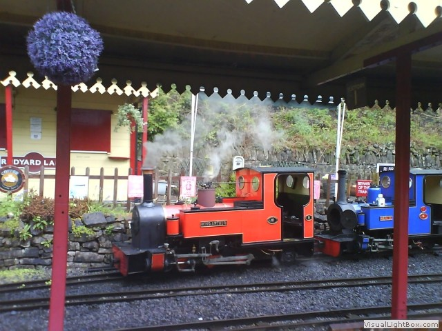 Rudyard lake narrow gauge railway