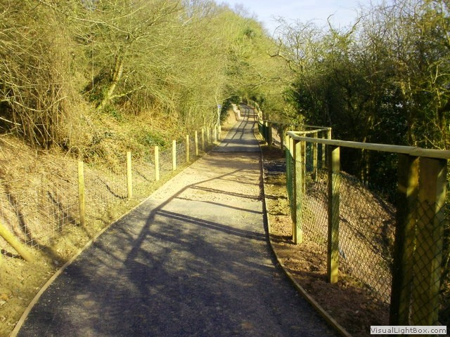 Newport to Caerleon cycle route