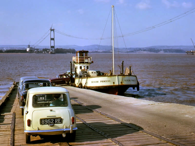 The old ferry crossing