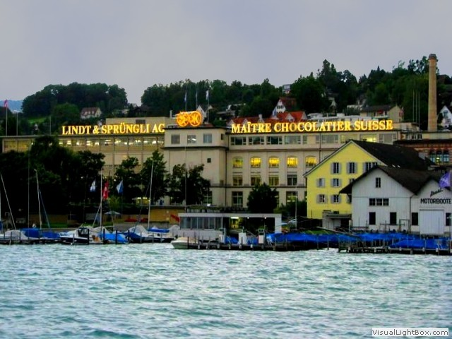Lindt chocolate factory