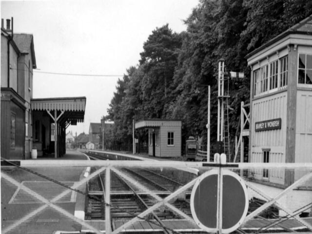 Bramley and Wonersh station as it was