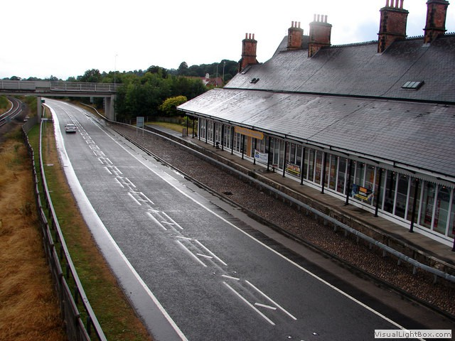 The old Welshpool station